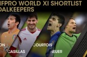 David de Gea misses out on FIFPro World XI shortlist