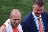 Van Gaal confirms Robben meeting
