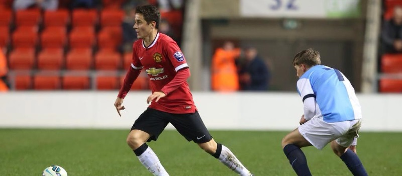 Ander Herrera returns from injury with goal for Man Utd U21s